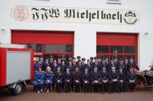 Gruppenfoto der FFW Michelbach von 2008