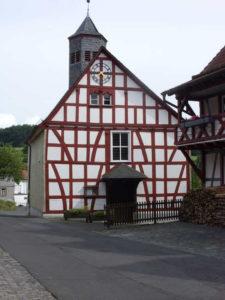 Fachwerkkirche in Michelbach