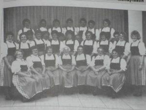 Ein Bild aus den Anfangszeiten der Landfrauen